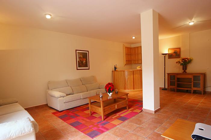 Basement Living room Casa Mar 2