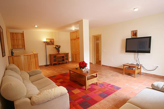Basement Living room Casa Mara