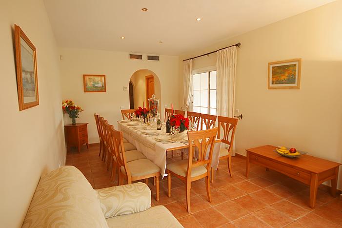 Living room dinnning room Casa Mar